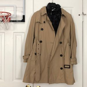 Large petite trench coat 1901 /Nordstrom